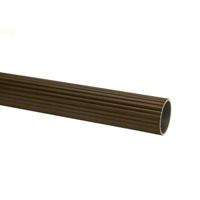 Tubo Ranurado 25 mm x 200 cm Café