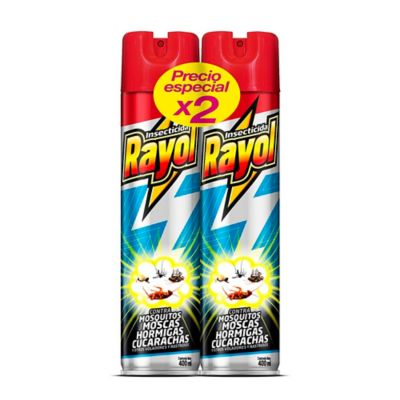 Rayol Paquete X 2 Matatodo 400Ml