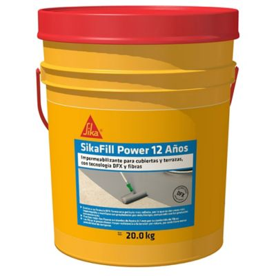 Sikafill Power 12 Rojo 20kg