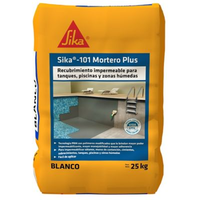 Sika-101 Mortero Plus Blanco 25Kg