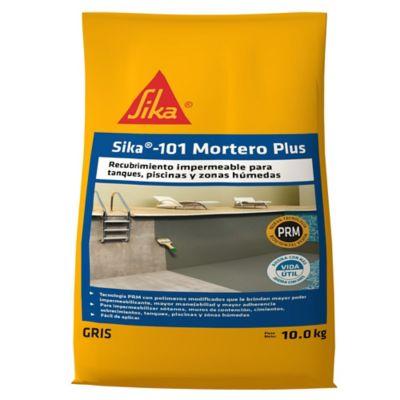 Sika-101 Mortero Plus Gris 10kg
