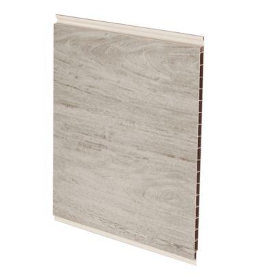 Cieloraso pvc, lámina de 3m2 alameda trigo liso, lámina de 3m x 25cm, Paq x 4 láminas