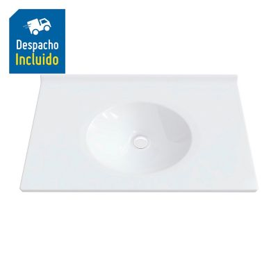 Lavamanos Quadratto 79 x 48 cm Blanco
