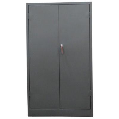 Armario Papelero 2 Puertas 160x92x45 cm Gris Nube