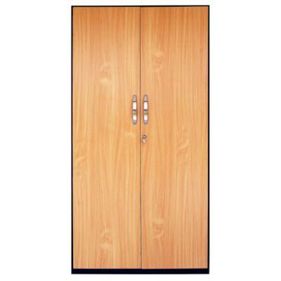 Armario Papelero Jade 2 Puertas 180x90x45 cm Negro