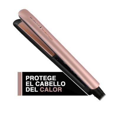 Plancha Alisadora Remington Keratina y Aceite de Argán