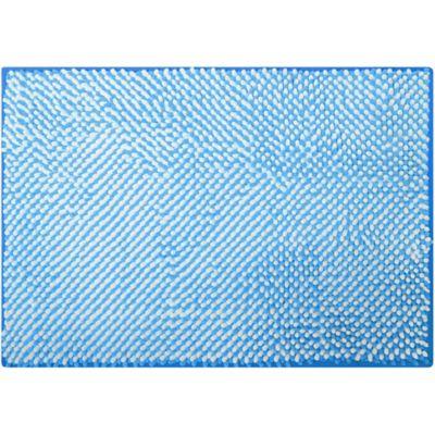 Tapete de Baño Reflex 43 x 61 cm Azul
