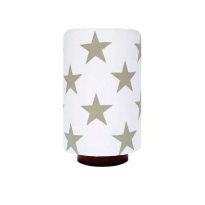 Lámpara para Mesa 1 Luz 60w Rosca E27 Estampado Estrellas