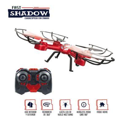 Cuadricóptero con Cámara microSD 4GB incluida