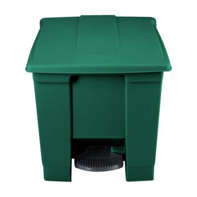 Contenedor de Pedal 30.3 Litros Verde