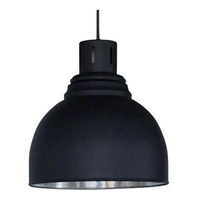 Lámpara ColganteLoft 1 Luz Rosca E27 60w Negra
