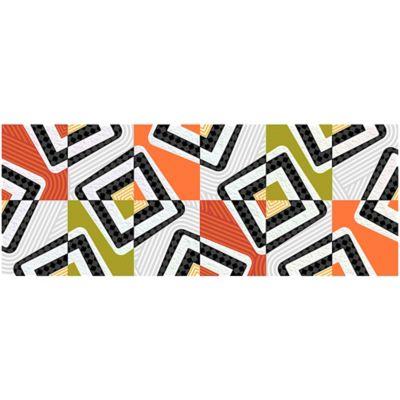 Listello para Baño Jarana 10x25 cm Multicolor