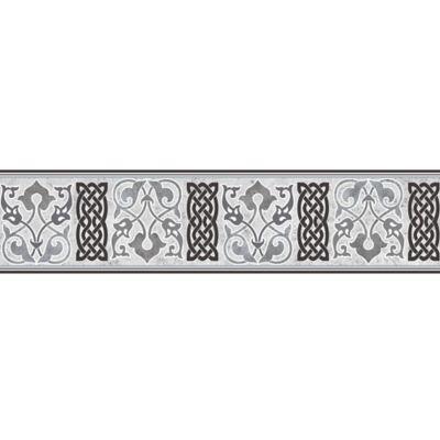 Cenefa Cerámica Damir 10.5x45.8 Centímetros Negro