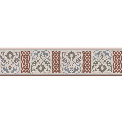 Cenefa Cerámica Damir 10.5x45.8 Centímetros Multicolor
