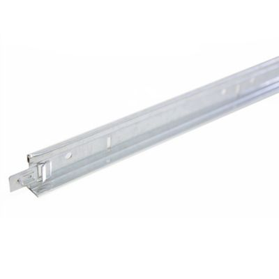 Perfil T Cruzado Blanco 0.6mt 24x25mm