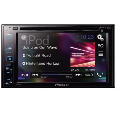 "Radio DVD/USB/BT LCD 6.2"" Doble Din con Instalación"