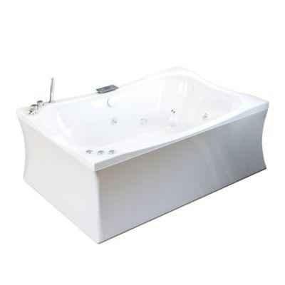 Hidromasaje Ibiza plus 182x123 cm con mantenedor de temperatura - Blanco