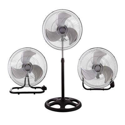 Ventilador 3 en 1 Metal Gris 45 cm