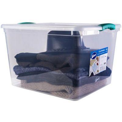 Caja Organizadora Wenbox 53x32x40 cm 45 LitrosTransparente