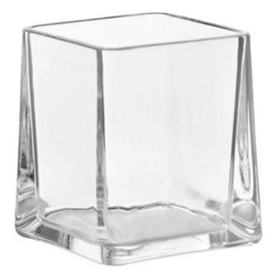 Vaso Acrílico Cubo