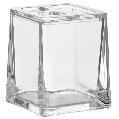 Vaso Acrílico Cepillo de Dientes Cubo