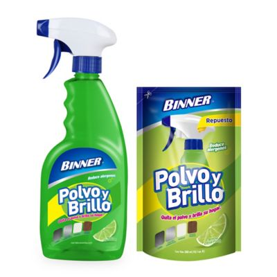Polvo Brillo 500 ml + Repuesto 300 ml Citrus