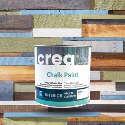 Pintura Acabado Vintage Chalk  Roto Ch06 500 ml. para InteriorBlanco