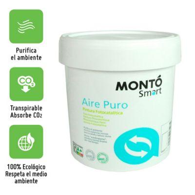 Smart Aire Puro. Pintura Fotocatalitica. 4000 ml
