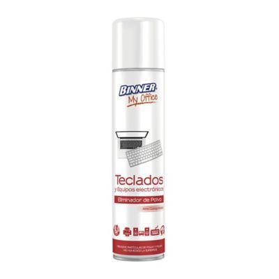 Eliminador Polvo Para Teclados Equipos Electrónicos 200 ml