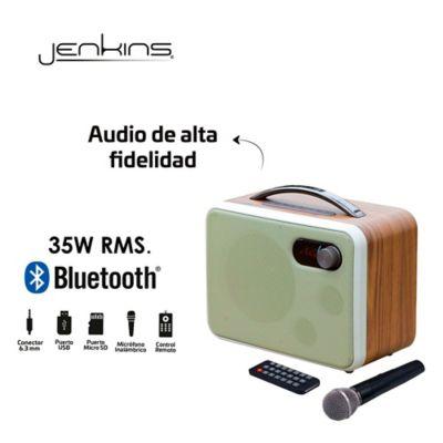 Amplificador Audio Recargable Jenkins 35W Dublin