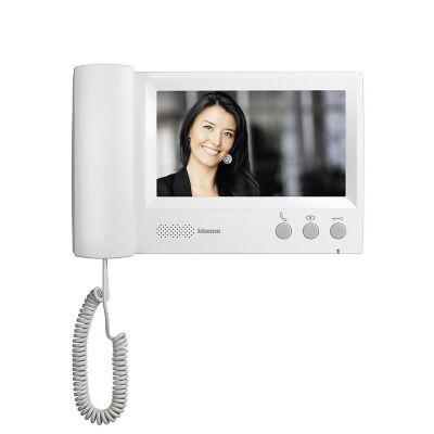 Videoportero 7 Pulgadas Blanco con Auricular BT-315411