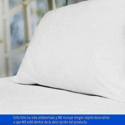 Sobrecama Rombos Sencillo 200x250 cm Blanco