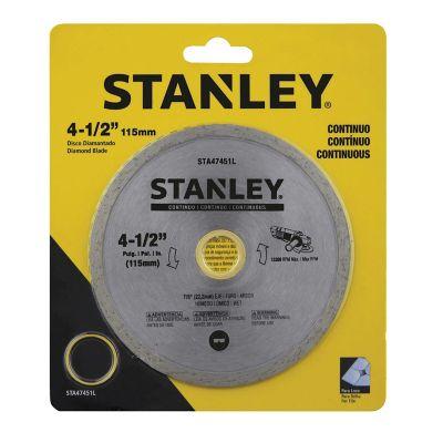 Disco Diamantado Continuo 4 1/2Pg Stanley