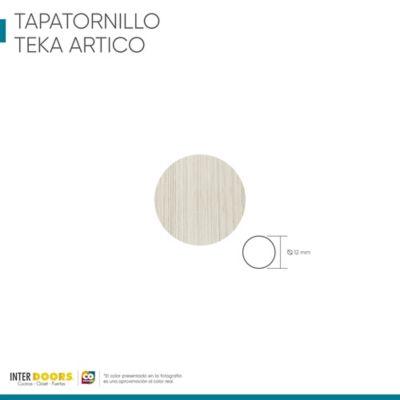 Tapa Tornillo Adhesivo-Teka Ártico