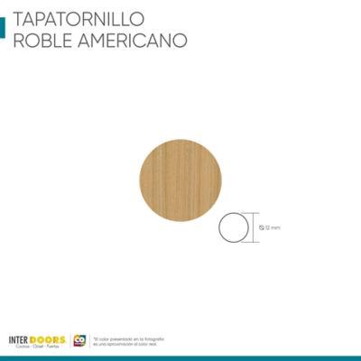 Tapa Tornillo Adhesivo-Roble Americano