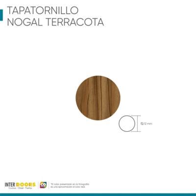 Tapa Tornillo Adhesivo-Nogal Terracota