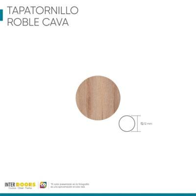 Tapa Tornillo Adhesivo-Roble Cava