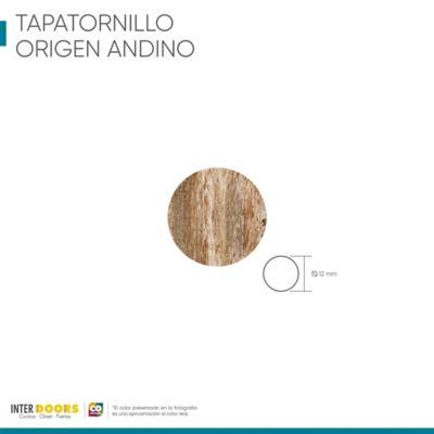 Tapa Tornillo Adhesivo-Origen Andino