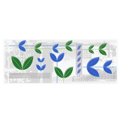 Listello para Baño Savia 10x25 Centímetros Multicolor