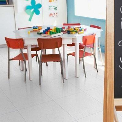 Piso Cerámica Calar Blanco 42.5x42.5 cm caja 1.63 m2