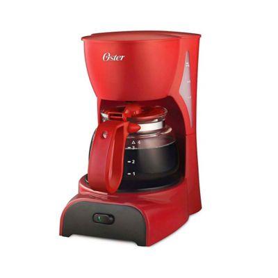 Cafetera Oster 4 Tazas Roja Bvstdcdr5r