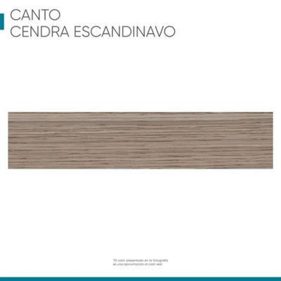 Canto Flexible 22 mm X 1 m Cendra Escandinavo