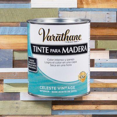 Tinte Secado Rápido Efecto Envejecido 1/4 de Galón Celeste Vintage