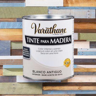 Tinte Secado Rapido Efecto Envejecido  1/4 de Galón Blanco Antiguo