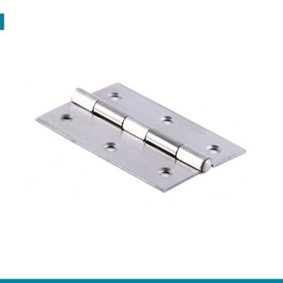 Bisagra Pta Acero Inox 3-1/2 X 2-1/4pulg 1.5mm