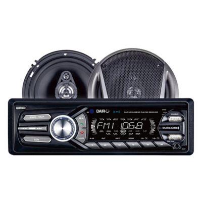 Combo Radio usb/bluetooth/desmont + Parlantes 16 cm