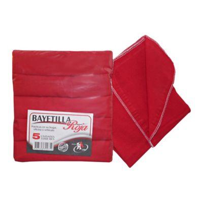 Bayetilla Roja 35X60 X5 Und