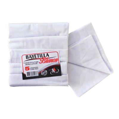 Bayetilla Blanca 35X60 X 5 Und