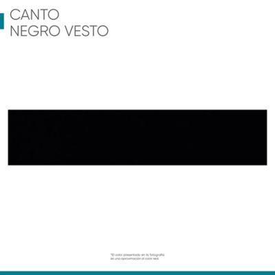 Canto Rigido 22 mm X 1M Negro Vesto