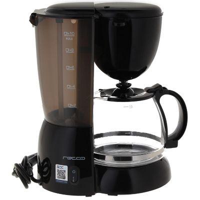 Cafetera Eléctrica 10 Tazas RCF-CM4277 Negro
